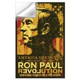 Ron paul revolution Wall Decals