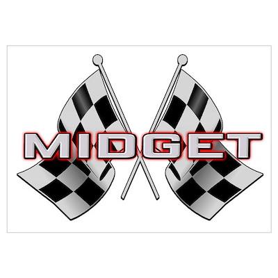 MG Midget Poster