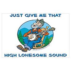 High Lonesome Bluegrass Poster