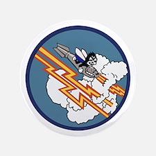 """2nd Bombardment Squadron Insignia 3.5"""" Button"""