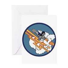 2nd Bombardment Squadron Insignia Greeting Card