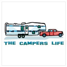 The campers life Poster
