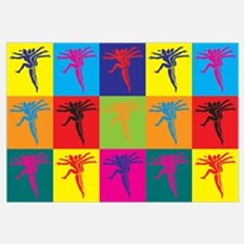 Aerobics Pop Art