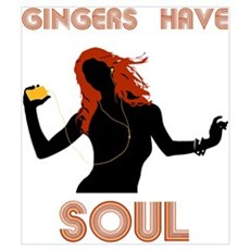 Female Gingers Have Soul Framed Print