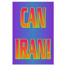 CAN IRAN! Poster