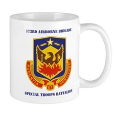 DUI - 173rd Special Troops Battalion with Text Mug