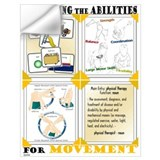 Physical therapy Wall Decals