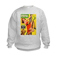 Eyeful Beauty Girl in Tree Cover Sweatshirt