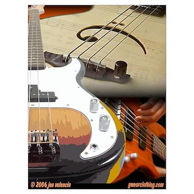 Bass Art 2 Poster