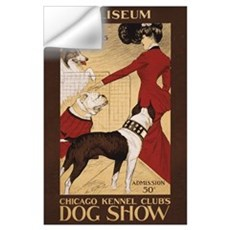 CHICAGO DOG SHOW 11x17 Wall Decal