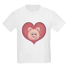 Pig Heart T-Shirt