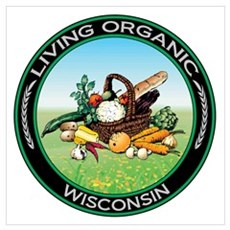 Living Organic Wisconsin Poster
