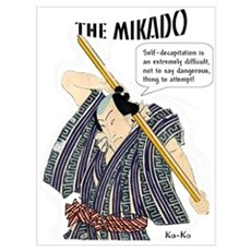 MIKADO Ko-Ko Poster
