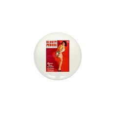 Beauty Parade Brunette Girl Cover Mini Button (100