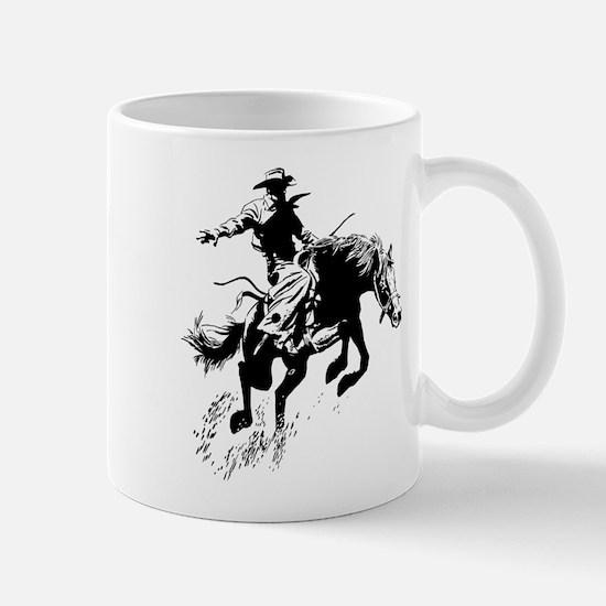 B/W Bronco Mug