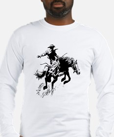 B/W Bronco Long Sleeve T-Shirt