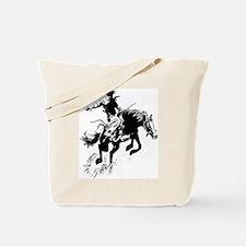 B/W Bronco Tote Bag