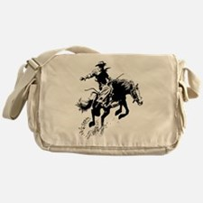 B/W Bronco Messenger Bag