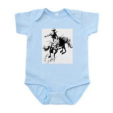 B/W Bronco Infant Bodysuit