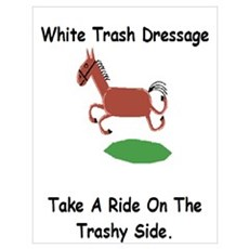 Ride On The Trashy Side Poster