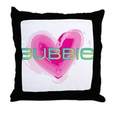 Bubbie Love Throw Pillow