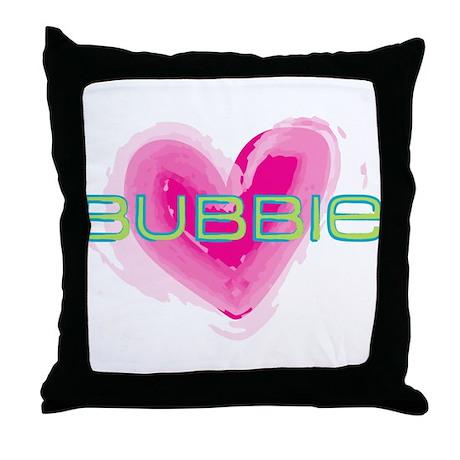 Bubbie Love Throw Pillow