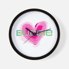 Bubbie Love Wall Clock