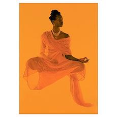 Female Buddha Poster
