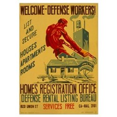Defense Workers Poster