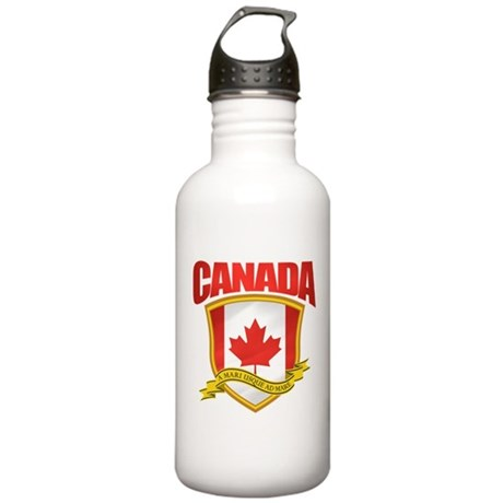 Canada Pride 2 Stainless Water Bottle 1.0L