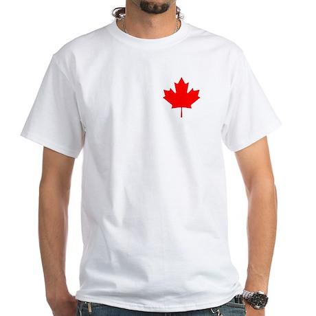 Canada Pride 2 White T-Shirt