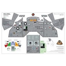 Apollo 13 Command Module Cockpit Poster