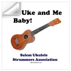 It's Uke and Me Baby Wall Decal