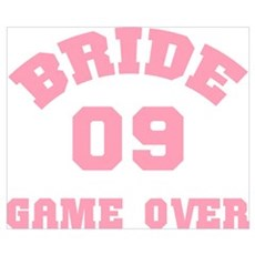 Bride 09 Game Over Poster