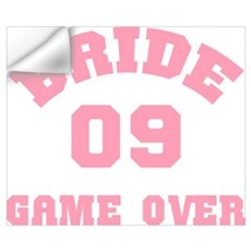 Bride 09 Game Over Wall Decal