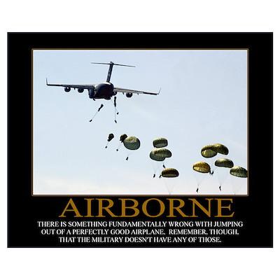 Airborne Motivational Poster
