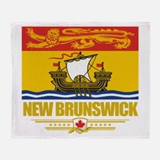 New Brunswick Pride Throw Blanket