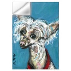 Portrait of a Chinese Crested Wall Decal