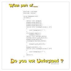 Understand C? Poster