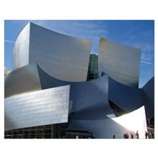 Disney Concert Hall in Los Angeles Poster