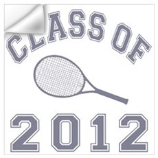 Class Of 2012 Tennis Wall Decal