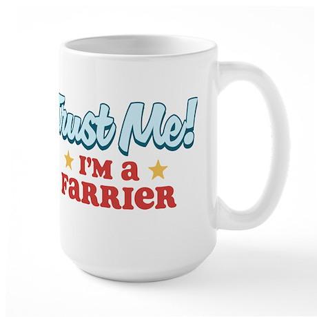Trust me Farrier Large Mug
