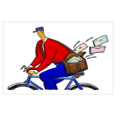 Bike Messenger Poster