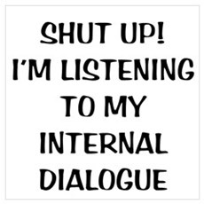 Internal Dialogue Poster