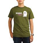 Boo-tiful Ghost Organic Men's T-Shirt (dark)