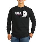 Boo-tiful Ghost Long Sleeve Dark T-Shirt