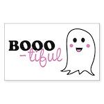 Boo-tiful Ghost Sticker (Rectangle 10 pk)