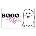 Boo-tiful Ghost Sticker (Rectangle 50 pk)