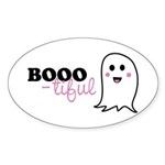Boo-tiful Ghost Sticker (Oval 10 pk)