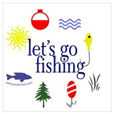 Let's go fishing! Poster